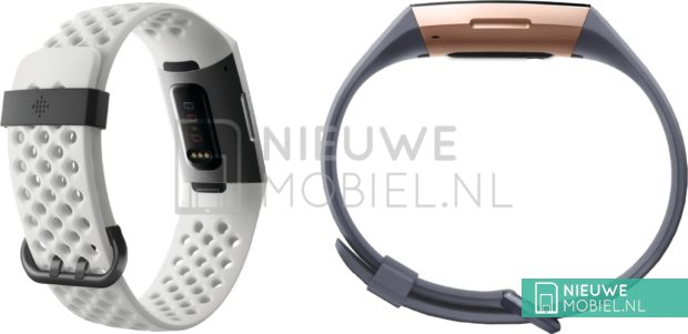 Fitbit Charge 3 : une fuite de photos suggère un design raffiné