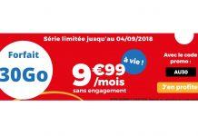 Forfait 30 Go Auchan Telecom