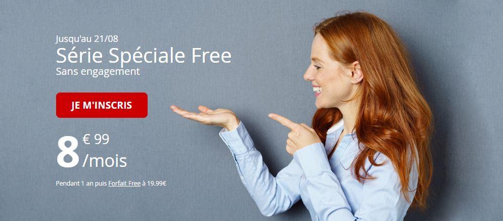 Le forfait Free Mobile 50 Go à 8.99 euros est prolongé !