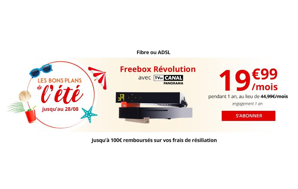 Les Freebox Crystal, Mini 4K et Revolution sont encore bradées sur le site de Free