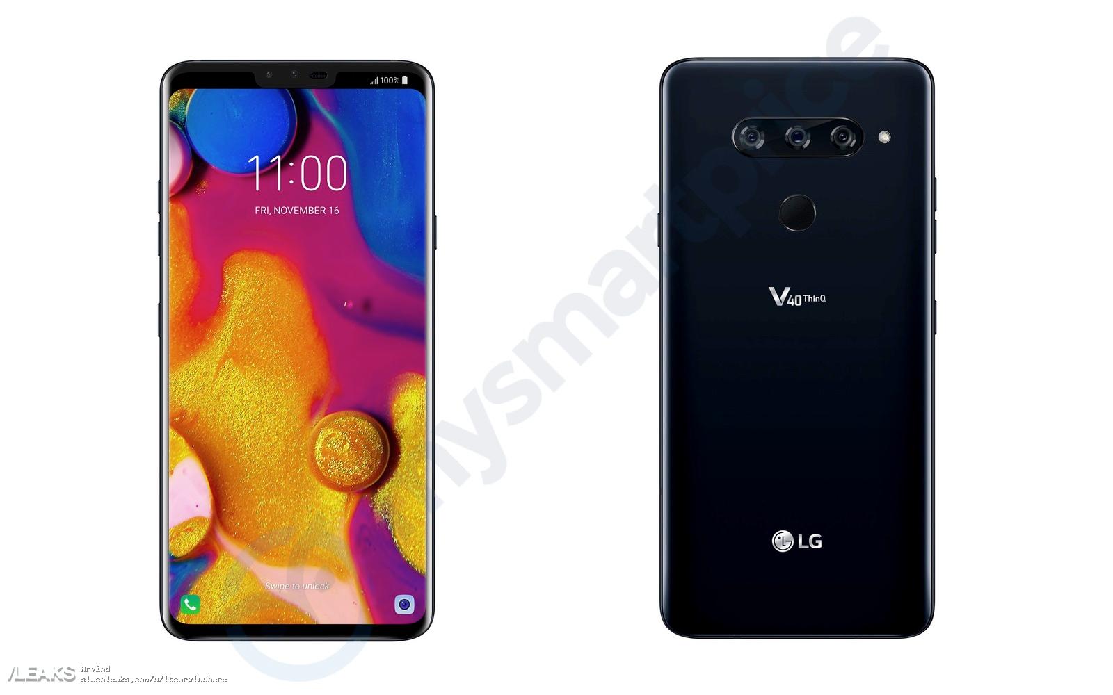 5 caméras pour le LG V40 et une compatibilité 5G pour le LG V45 !