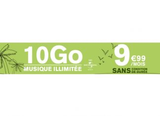 Forfait en promo La Poste Mobile 10 Go