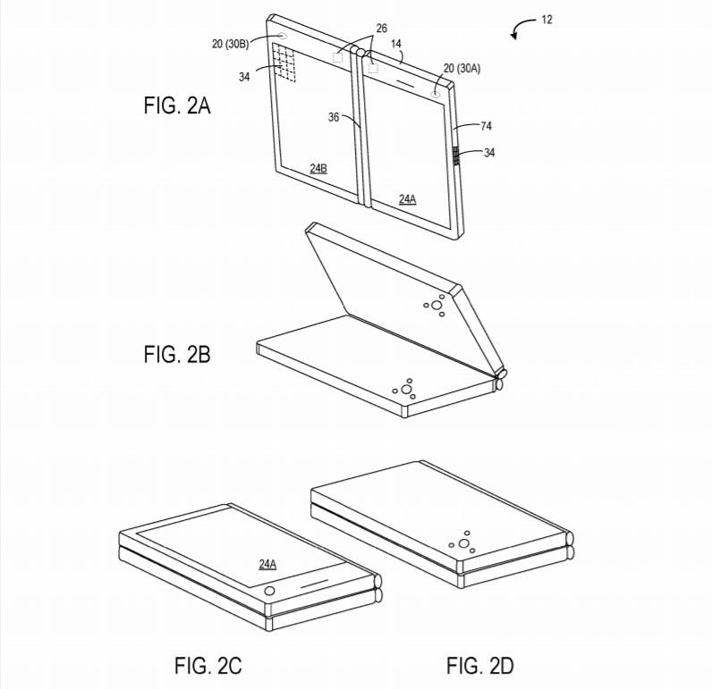 Le brevet sur le Microsoft Andromeda