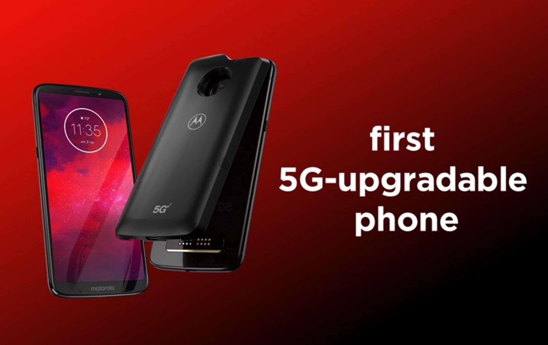 Motorola Moto Z3, premier smartphone compatible 5G