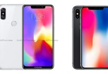 Motorola P30 vs iPhone X