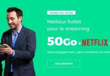Le forfait 50 Go de RED by SFR avec Netflix
