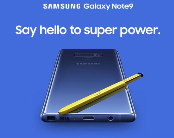 Le Galaxy Note 9 apparaît puis disparaît sur le site officiel de Samsung !