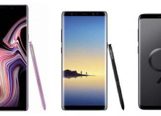 Samsung Galaxy Note 9 vs Note 8 vs S9 Plus