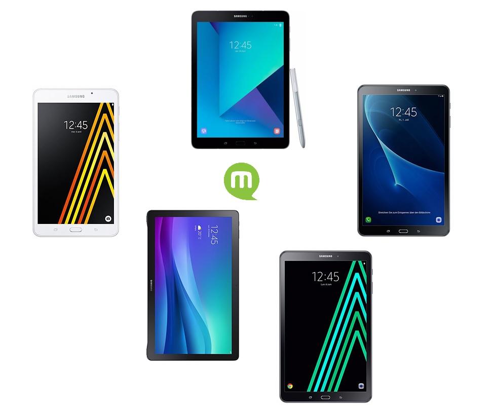 Guide d'achat : quelle tablette Samsung acheter en 2018 ?