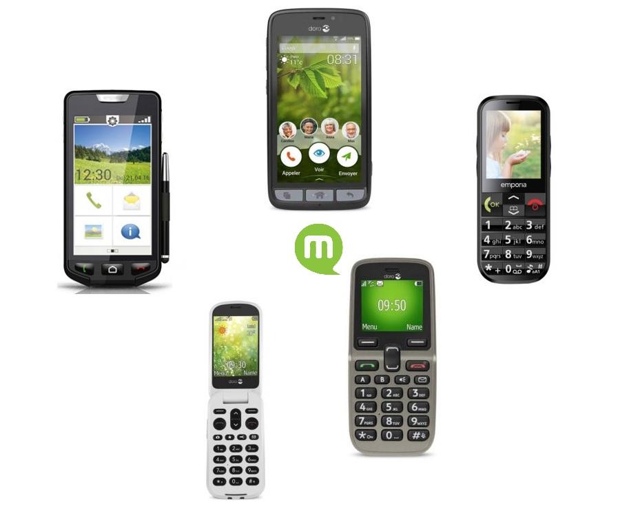 Guide d'achat : notre sélection des téléphones pour seniors