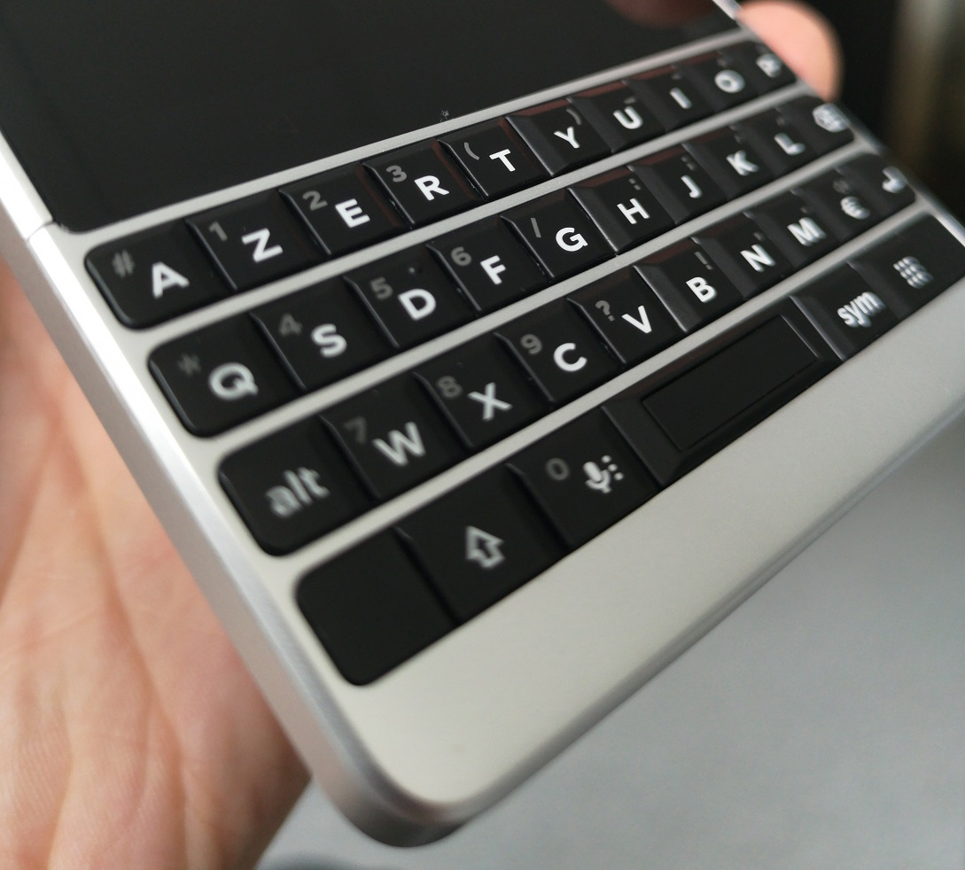 Le clavier du BlackBerry KEY2