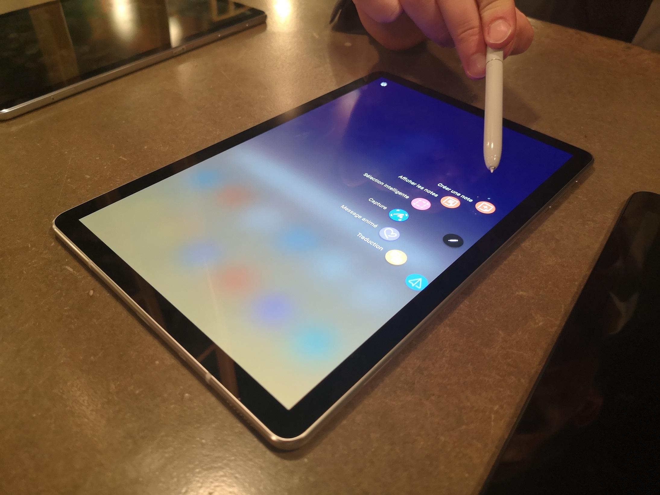 [ Prise en main ] Samsung Galaxy Tab S4 : une nouvelle génération bien pensée
