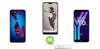 Top 5 smartphone Huawei