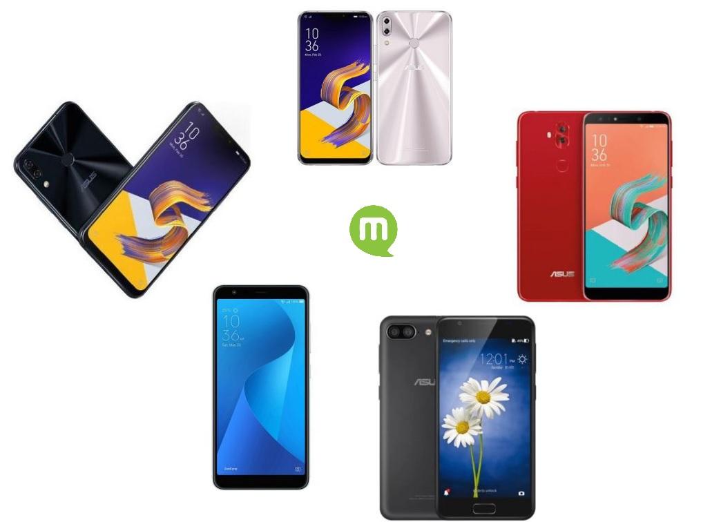 Comparatif des meilleurs smartphones Asus