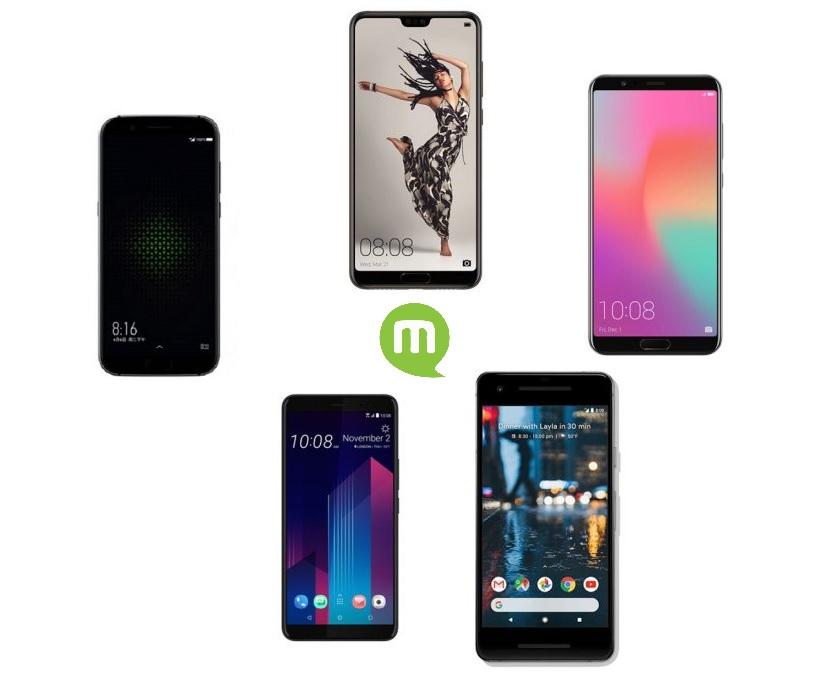 Top 5 des meilleurs téléphones avec le max de mémoire