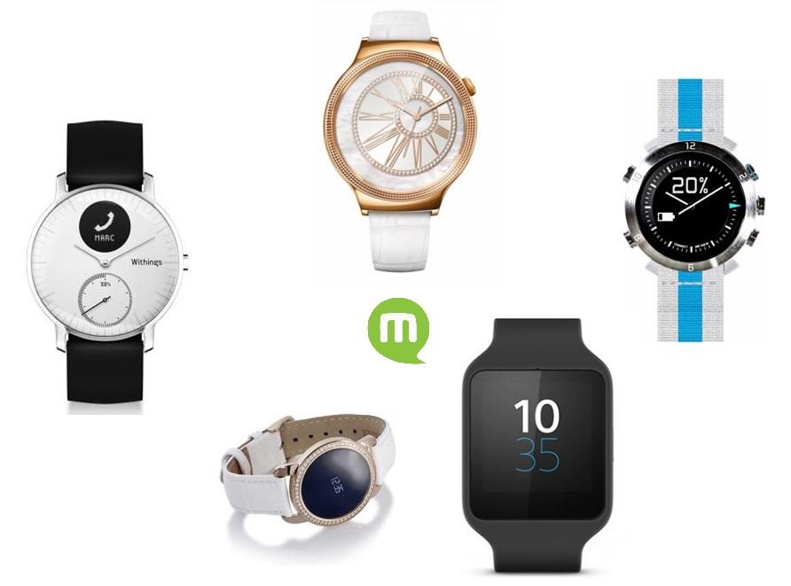Quelle montre connectée blanche acheter actuellement ?