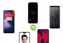 Les 5 meilleurs smartphones édition mi 2018
