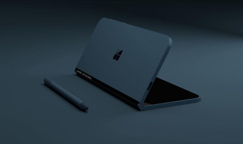 Un concept du Microsoft Andromeda