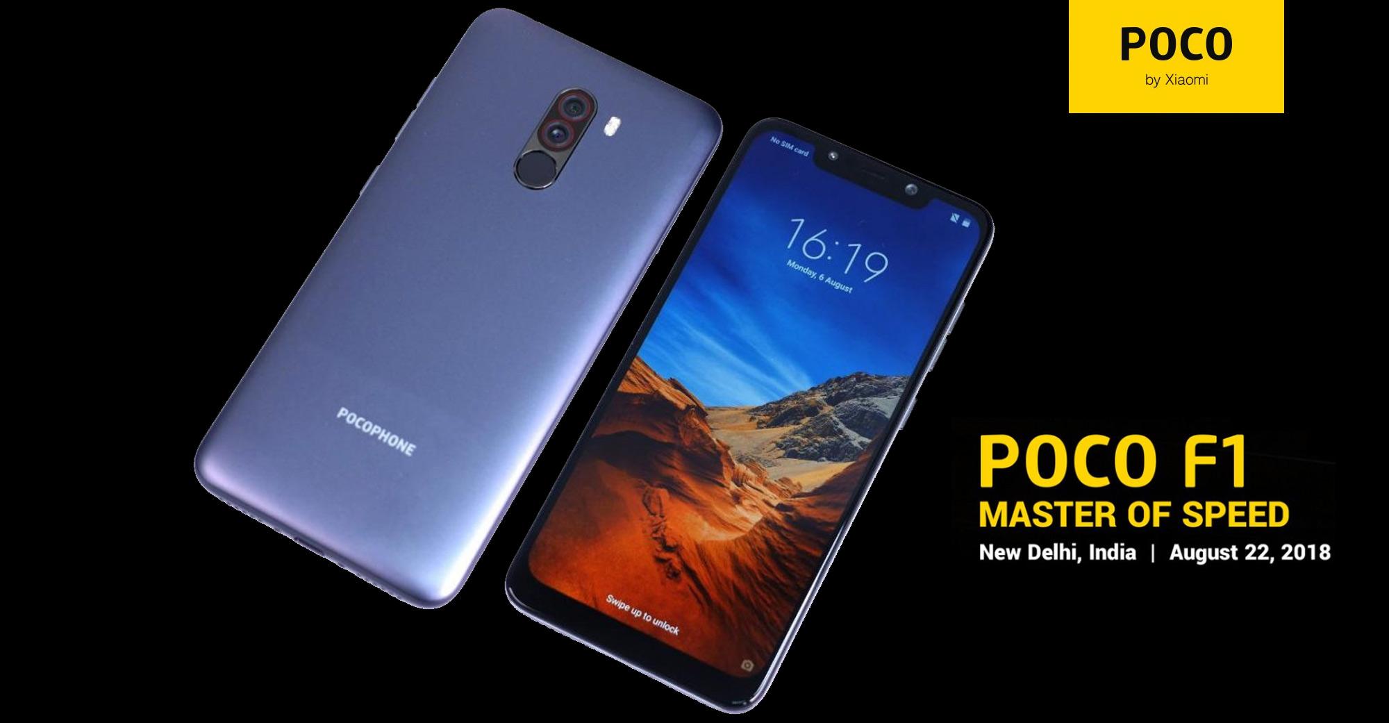 Un Snapdragon 845 dans le Xiaomi Pocophone F1 pour 260 euros !
