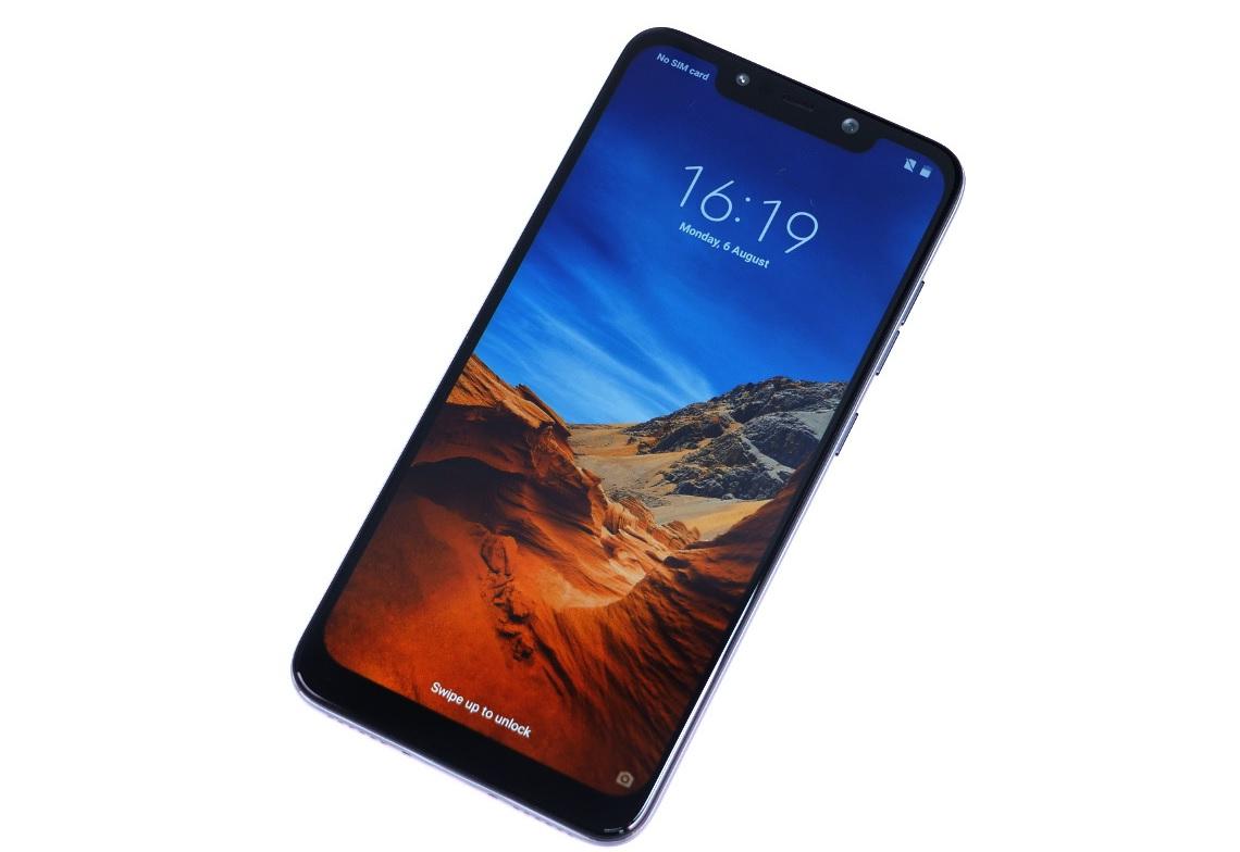 Xiaomi Pocophone F1 : 6 pouces, Snapdragon 845, 6 Go de RAM pour moins de 450 euros !