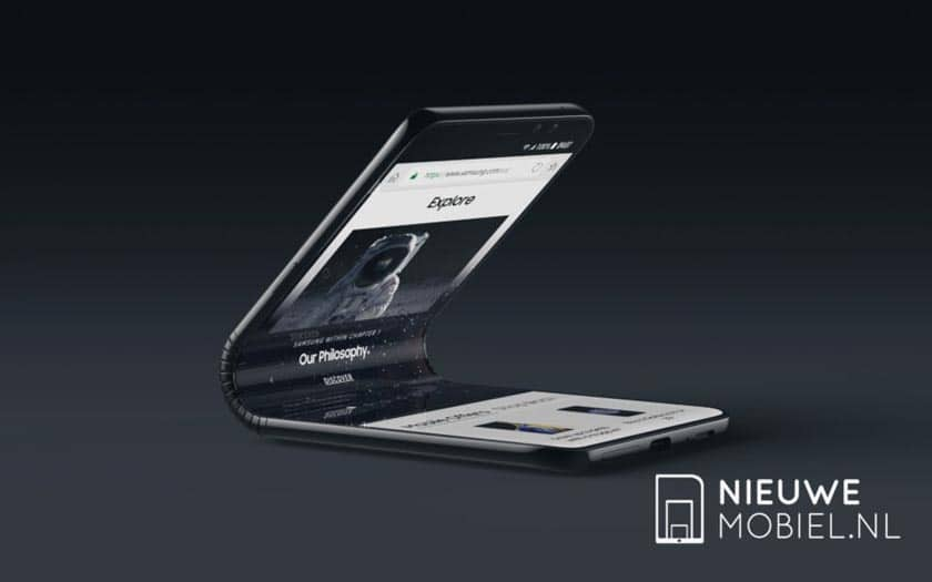 galaxy x 2 - Galaxy F ou X : le futur smartphone pliable de Samsung se paie un concept très séduisant !