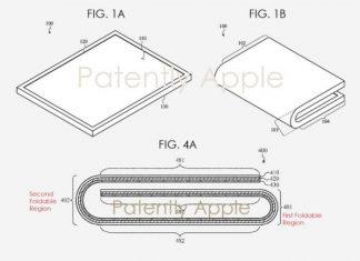 Brevet d'un iPad pliable