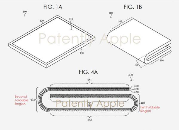 Apple dépose un brevet relatif à un iPad pliable
