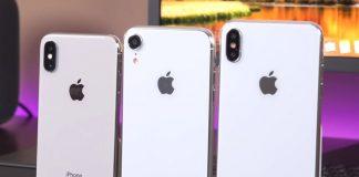 Les iPhone 9 et XS Plus aux côtés de l'iPhone X
