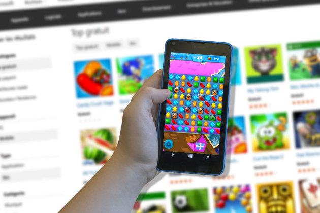 Jeux mobiles