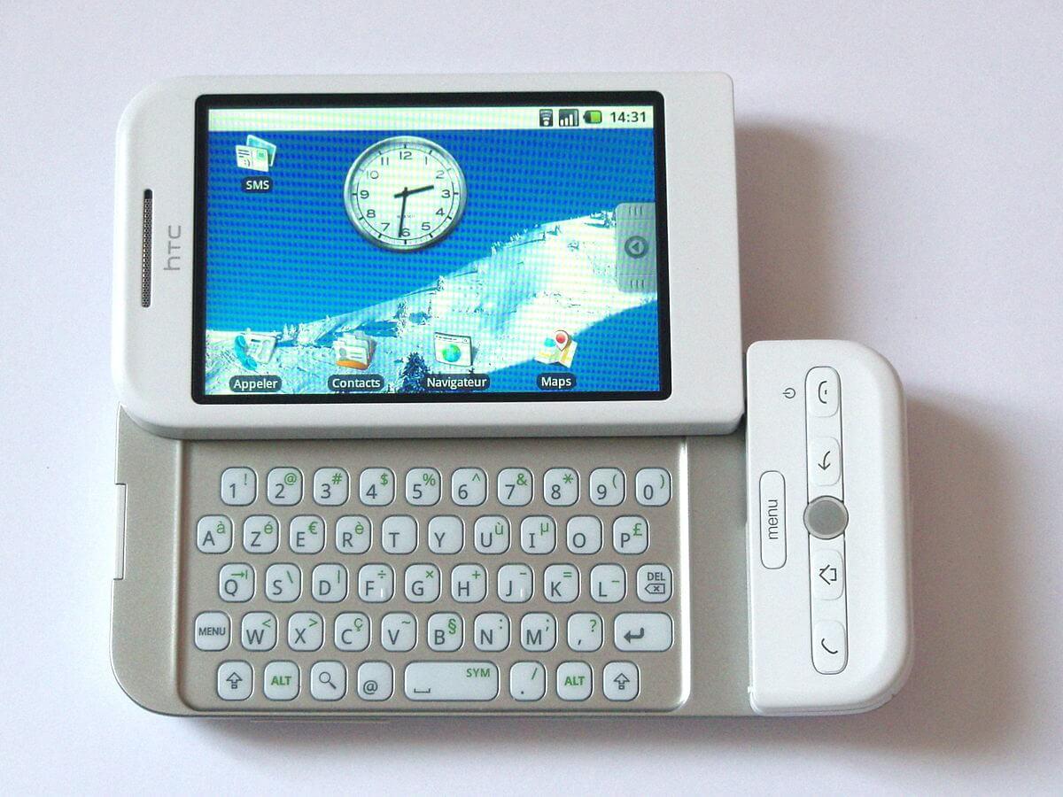 Vous vous souvenez du HTC Dream, le premier smartphone Android ?