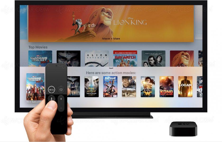Pas de scène de violence ou autre sur le Netflix d'Apple