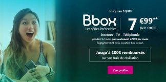 Bbox de Bouygues Telecom en promo