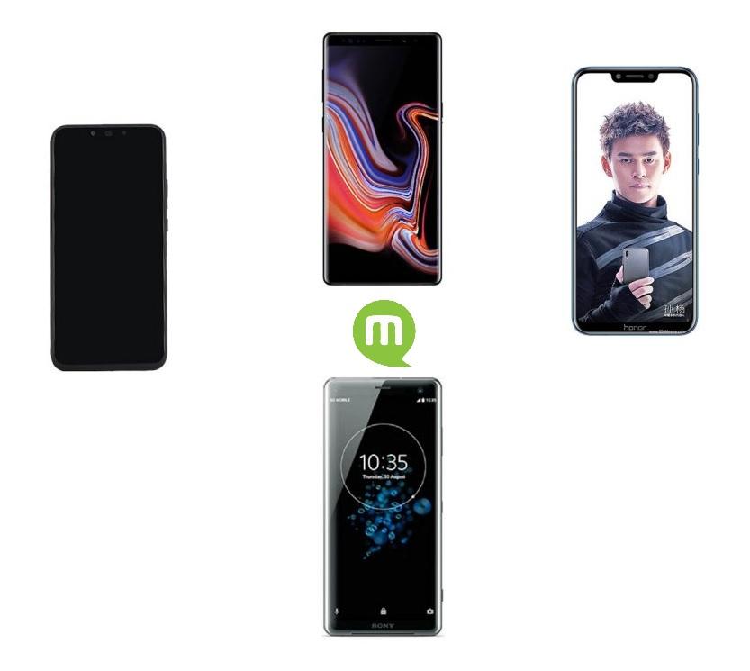 Comparatif de smartphones