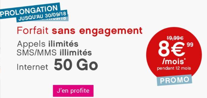 Forfait Coriolis Telecom 50 Go