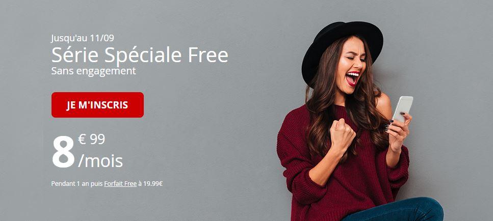 La série spéciale Free Mobile 60 Go à 8.99 euros est bientôt terminée !
