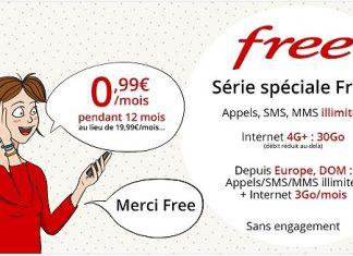 Forfait Free Mobile 30 Go