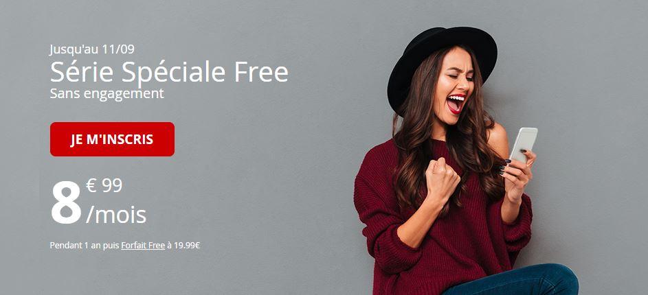 Free Mobile : le forfait 60 Go à 8.99 euros est prolongé !