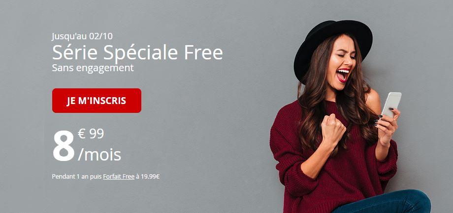 C'est fou, l'offre sur le forfait Free Mobile 60 Go à 8.99 euros est prolongée !