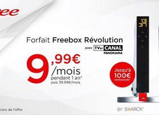 Freebox Revolution en promo sur Vente Privée