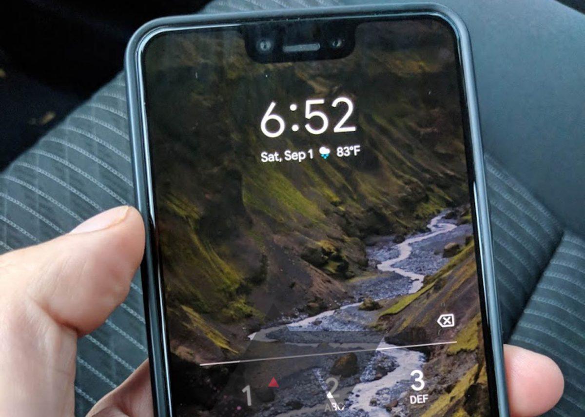 Un Google Pixel 3 XL retrouvé sur la banquette arrière d'un taxi