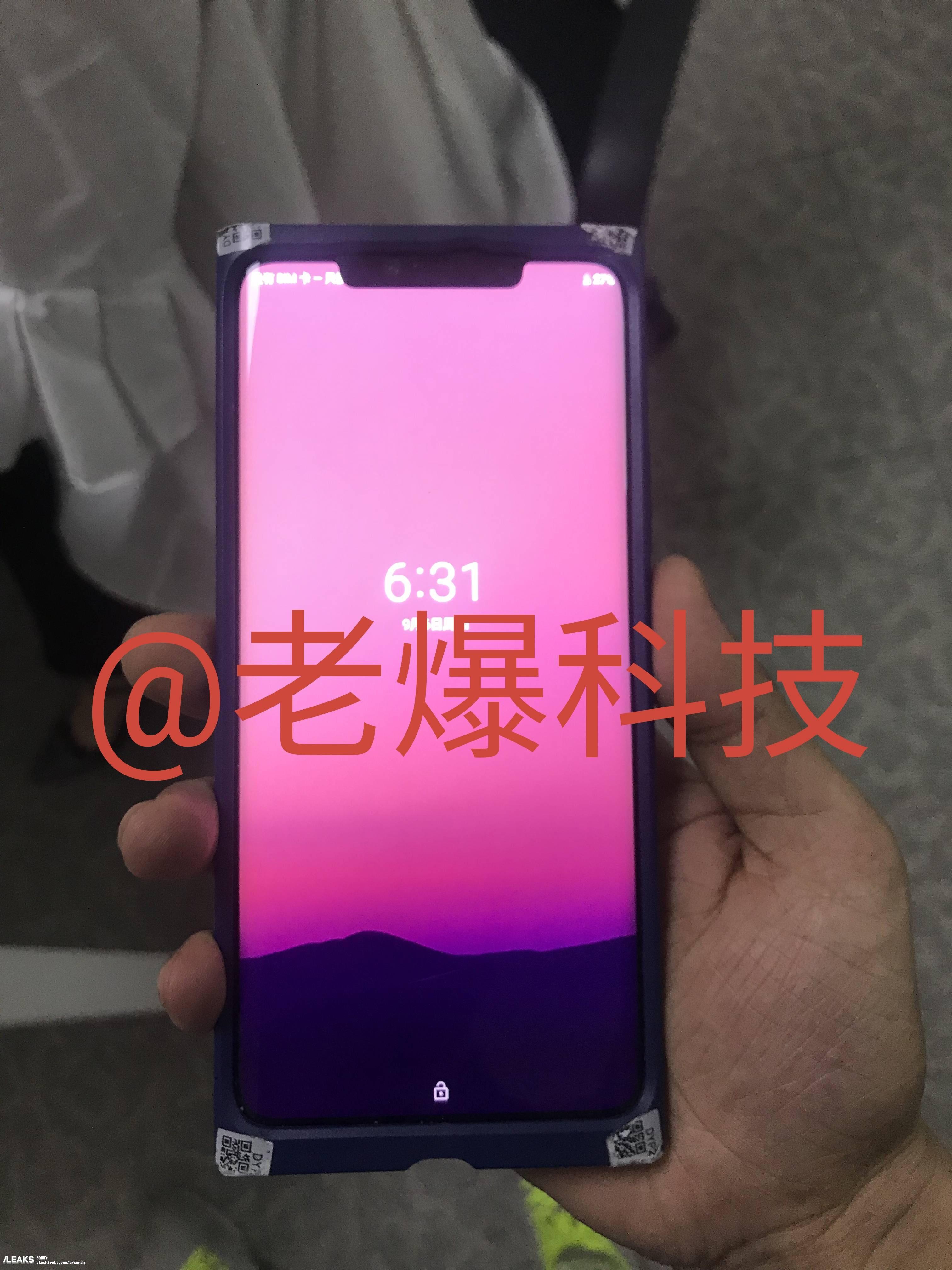 Huawei Mate 20 Pro Slashleaks 1 - Huawei Mate 20 Pro : des images du triple capteur circulent encore !