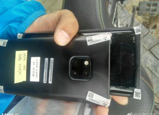 Huawei Mate 20 Pro Slashleaks
