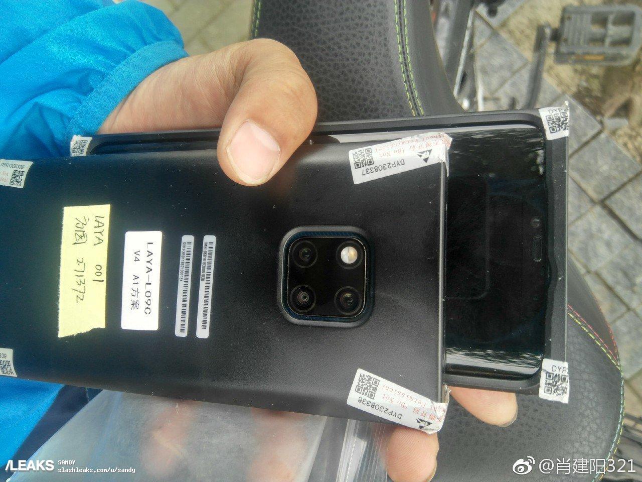Huawei Mate 20 Pro : des images du triple capteur circulent encore !