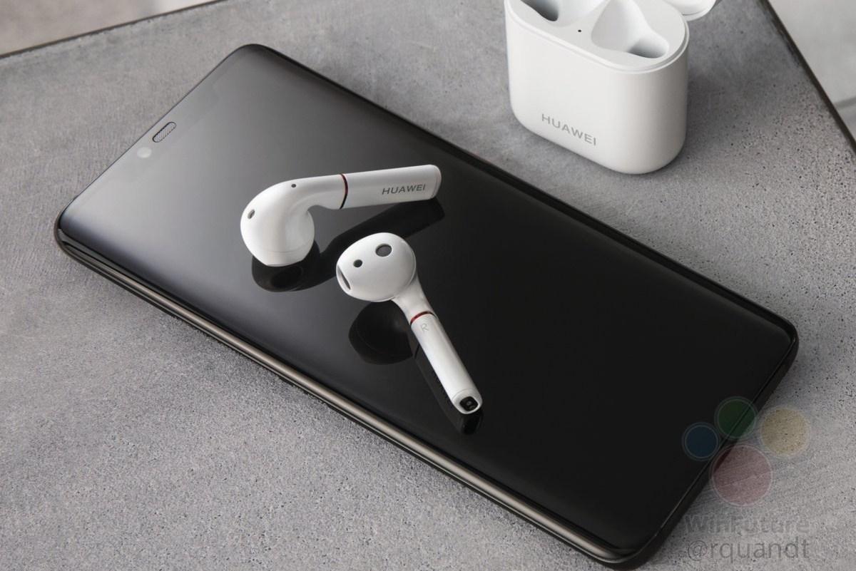 Huawei Mate 20 : le dos du smartphone peut recharger les écouteurs Huawei sans fil