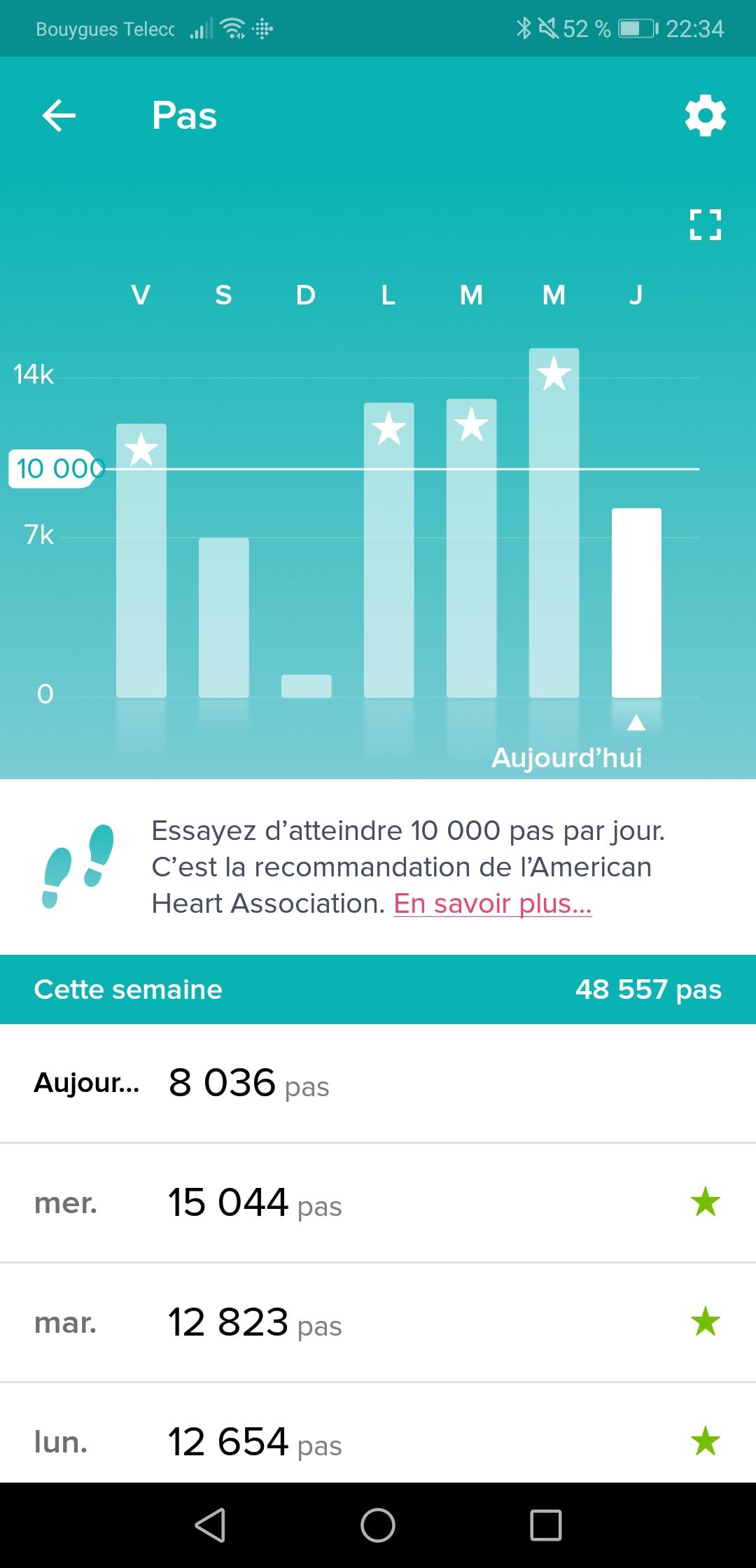 Screenshot 20180621 223441 - [ TEST ] FitBit Versa : une montre connectée qui a beaucoup de charme