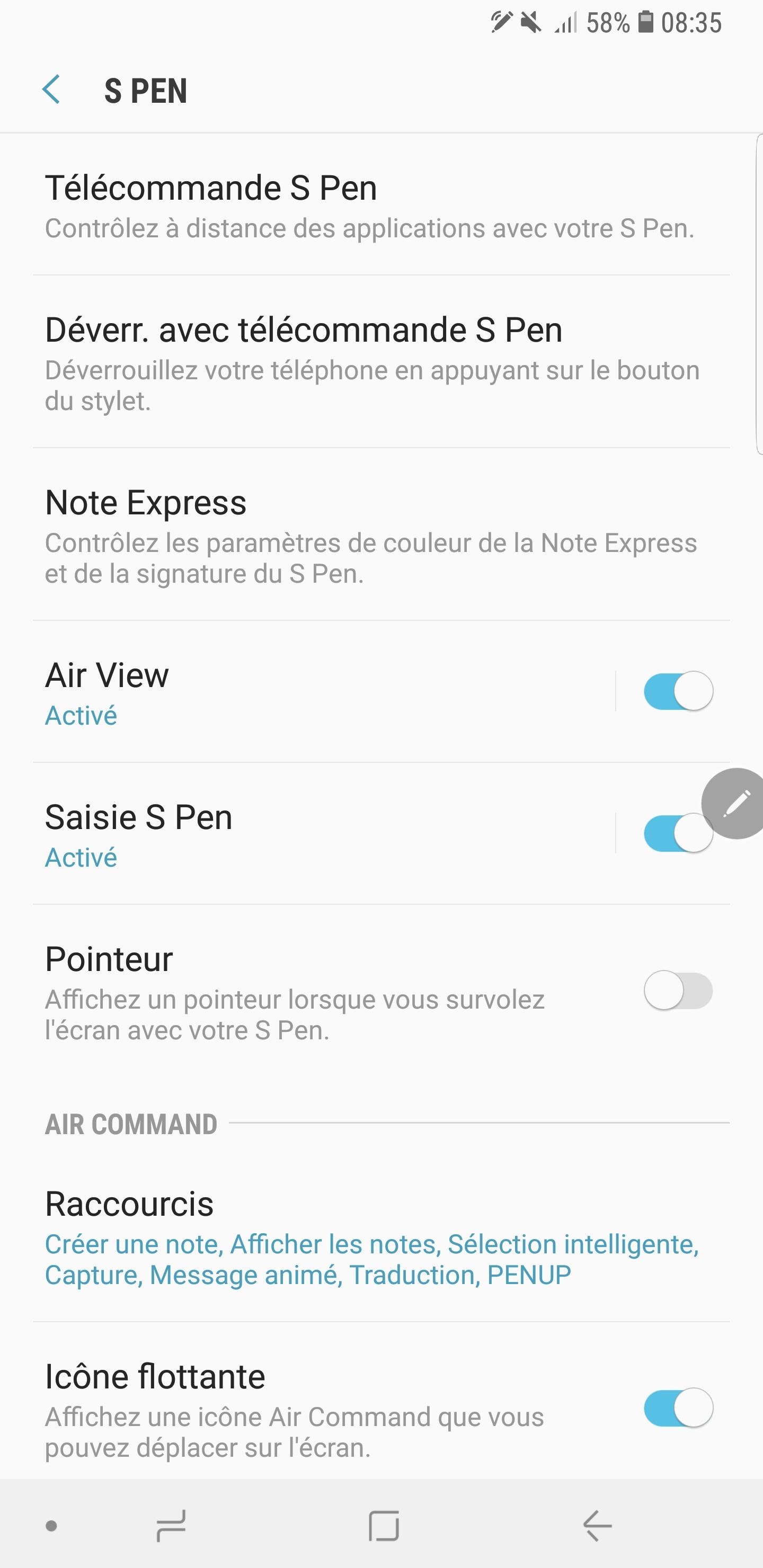 Screenshot 20180903 083525 Settings - [ TEST ] Samsung Galaxy Note 9 : c'est cher mais qu'est-ce que c'est bon !