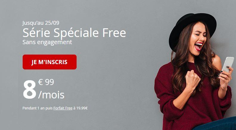 Le forfait Free Mobile 60 Go à 8.99 euros vit ses dernières heures