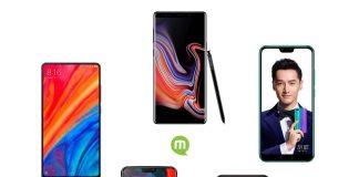 Guide d'achat : les meilleurs smartphones de l'été 2018