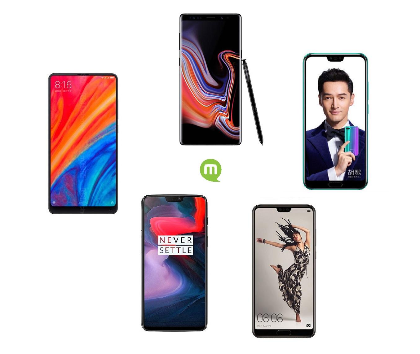 Guide d'achat smartphone : quels sont les meilleurs modèles de l'été 2018 ?