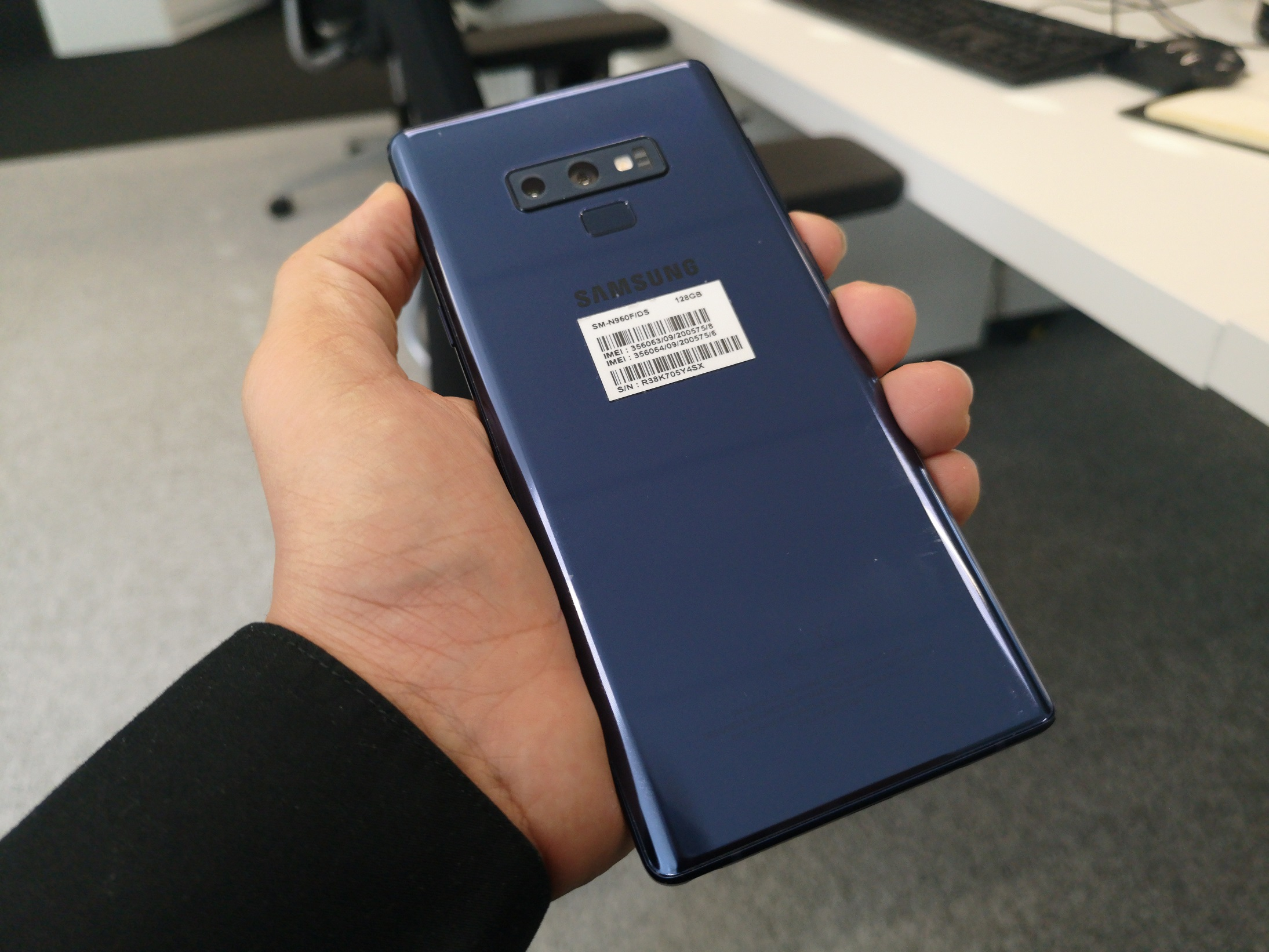 DxOMark lui offre au Samsung Galaxy Note 9 un score de 103 en photo